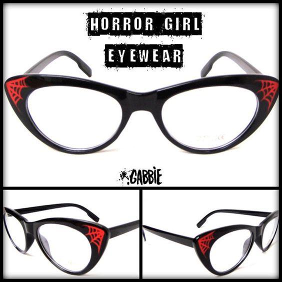 ___HORROR GIRL EYEWEAR___ Custom eyeglasses frames. Ideal ...