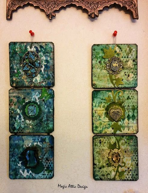 Wall decorations by Maria Lillepruun