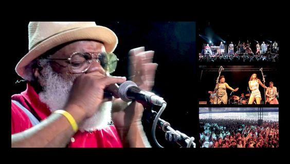 ファニーメイは、バイロンベイBluesfest、オーストラリアに住んでいる