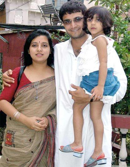 Saurav Ganguly & Dona Ganguly