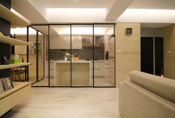 半開放式廚房讓你擁有明亮寬敞的廚房又不怕油煙問題