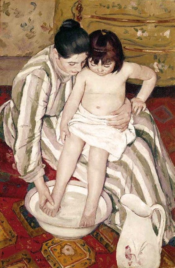 CASSATT, Mary The Bath