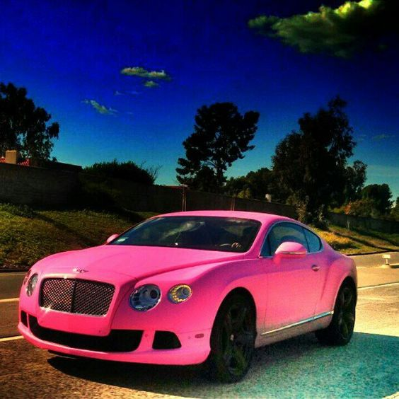 One For The Ladies Bentley Continental Gt Pink: My Wife, Pink Barbie And So In Love On Pinterest