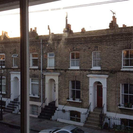 View from a London apartment