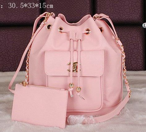 Chanel Backpack Caviar Leather A68668 Pink