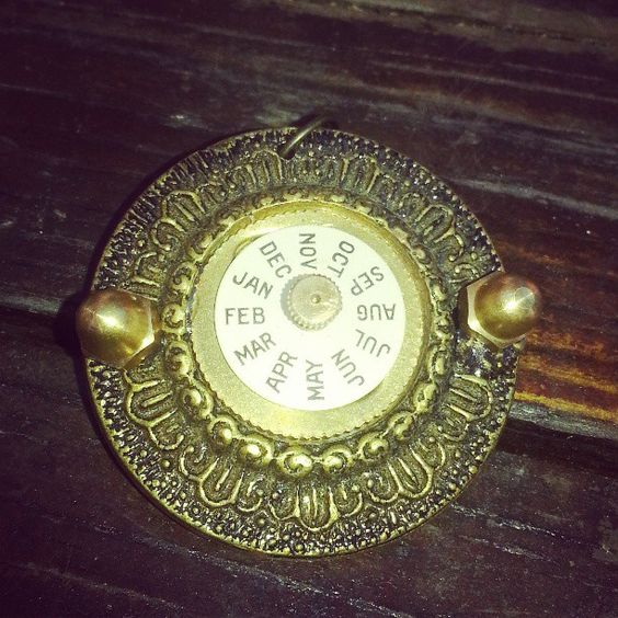 Month-by-month steampunk time machine