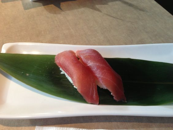 tuna sushi -my man`s favorite