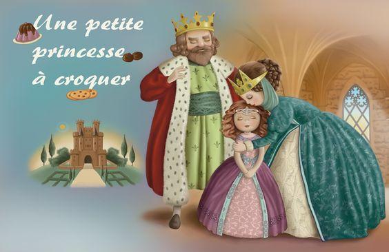 """Conte """"Une petite princesse à croquer.Magazine Charlotte aux Fraises"""