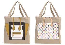Resultado de imagen para bolsas de tela moda