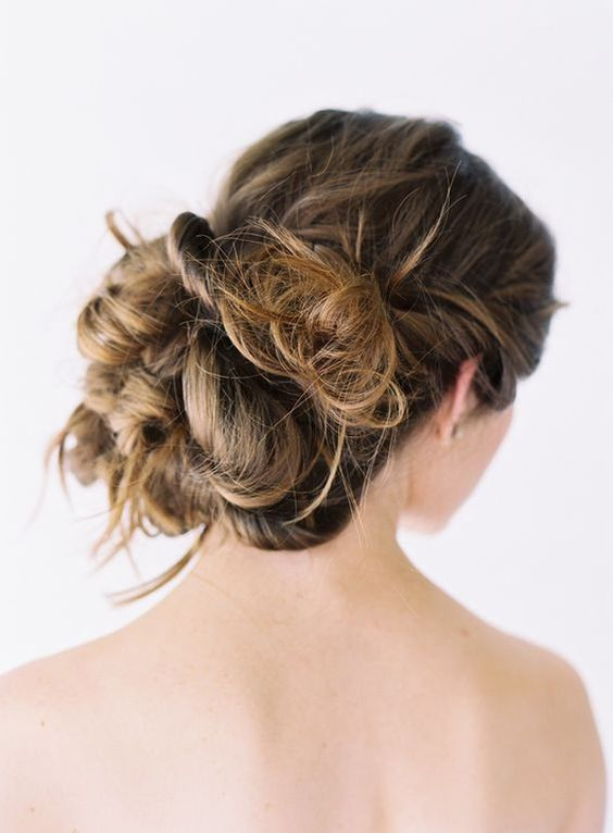 Tutorial for Wedding Hair Updos Natural Casual Wedding Hairstyles