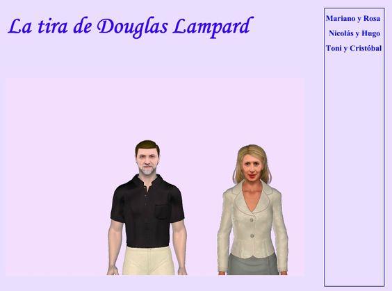 Página web de humor con personajes animados