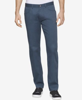 CALVIN KLEIN Calvin Klein Men'S Slim-Fit Four-Pocket Pants. #calvinklein #cloth # pants