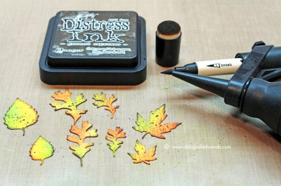 Tim Holtz Distress Ink Color POP: Ground Espresso! | Simon Says Stamp Blog