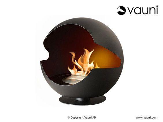 バイオエタノールで燃える暖炉で、エコにスタイリッシュにお部屋ぬくぬく | roomie(ルーミー)