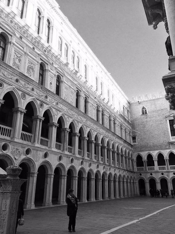 Dal cortile di Palazzo Ducale ,Venezia