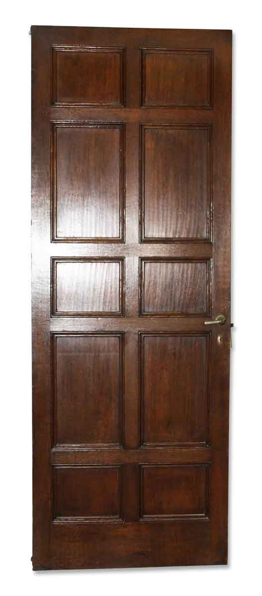 Antique 10 Panel Interior Door 80 5 X 29 5 Doors Interior Panel Doors Paneling