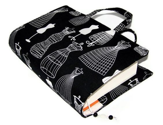 Dress up your book with a pretty case or cover!