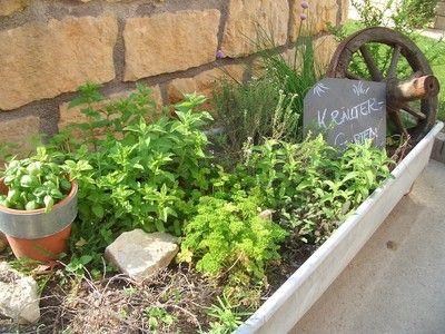 Ein Kräutergarten mal anders... - Wohnen und Garten Foto