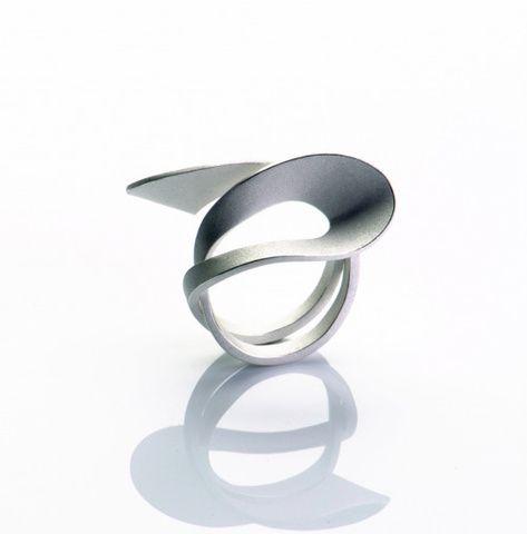 Sibylle Krause: Ring, 925 Silber