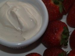 Jason's Deli Creamy Liqueur Fruit Dipping Sauce – you can make your fresh fruit extra special with this recipe.    1 cup sour cream   1/2 cup light brown sugar   4 teaspoons Grand Marnier liqueur  or 4 tsp orange liqueur    Instructions    Whisk together all ingredients in a medium bowl until sugar is dissolved. Chill for an hour, then stir once before serving.