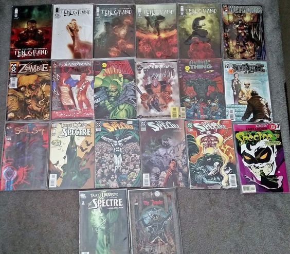 Ten Grand 1-5, Spectre, and More - Lot of 20 - #1 Issues! VF/NM