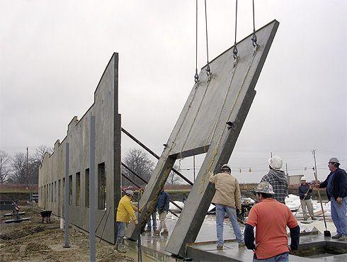 Tilt Deck Concrete Wall Forming System For Tilt Up Walls Concrete Wall Concrete Wall
