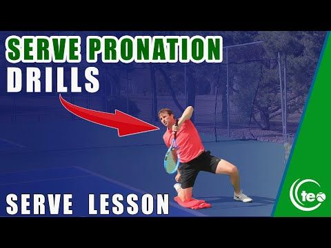 Tennis Serve Lesson How To Master Pronation On Your Serve Pronation Drills Youtube In 2020 Tennis Lessons Tennis Serve Drill
