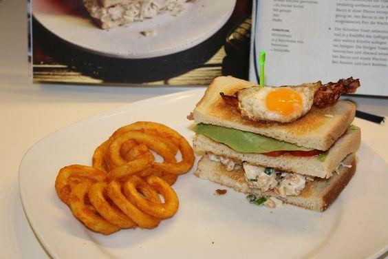 "Club Sandwich aus ""Burger. Homemade Fast Food"""