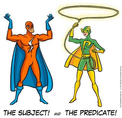 Super heros to teach grammar??? I just fell  in love with this idea!!
