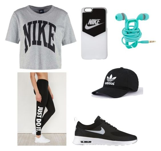 """""""Untitled #5"""" by emelyn-roussel on Polyvore featuring NIKE"""