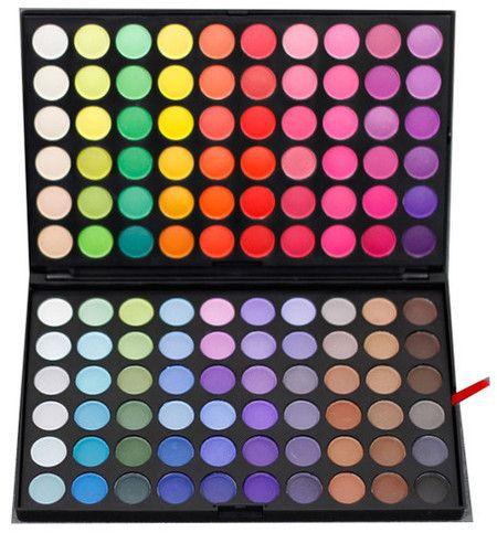 Paleta Sombras 120 cores - Modelo E