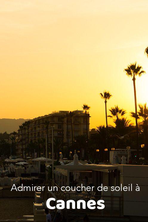 Admirer Un Coucher De Soleil A Cannes En 2020 Visiter Cannes Coucher De Soleil Baie De Cannes