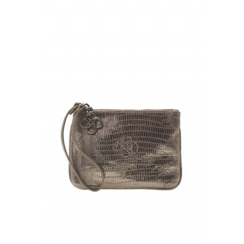 Stella & Dot Soho Wristlet - Metallic