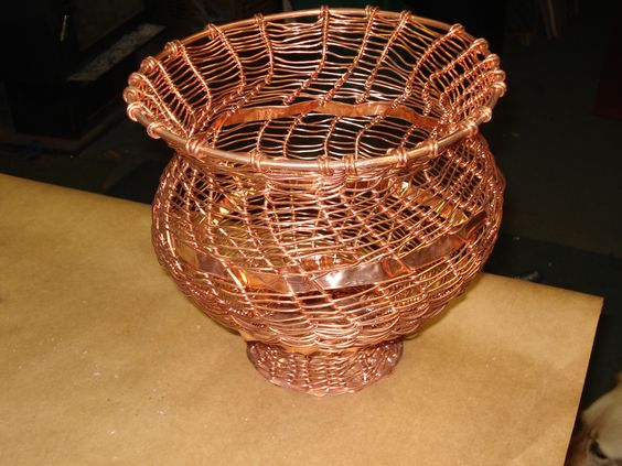 Handmade Copper Basket : The world s catalog of ideas