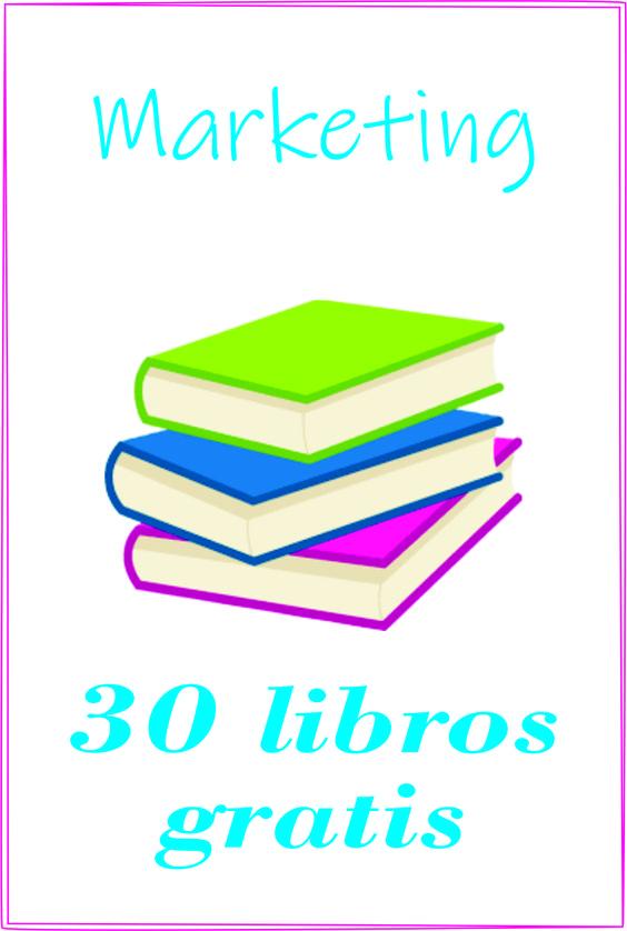 Descarga libros gratis sobre marketing, PDF