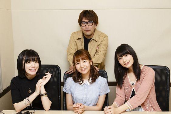 高野麻里佳さんとmachicoさんと和氣あず未さん