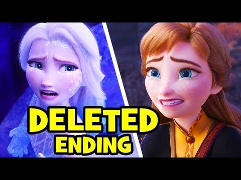 Frozen 2 S Deleted Ending How Disney Almost Killed Elsa Destroyed Arendelle Castle Youtube Musical Movies Gym Music Much Music