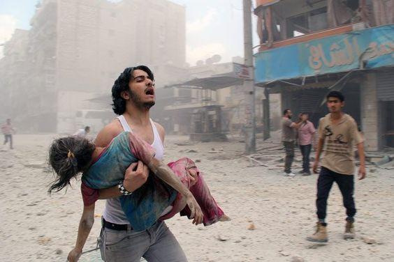 Cinco milhões de sírios estão ameaçados por bombas usadas na guerra - Yahoo Notícias