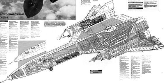 Blackbird - Aircarft Cutaway