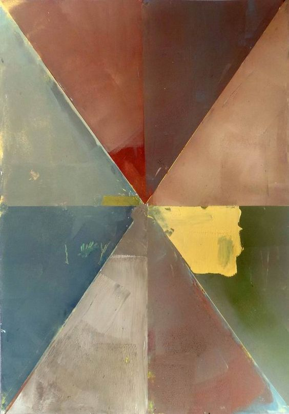 Yellow [Cubism-A463] - $500.00 painting by oilpaintingsartmaker.com