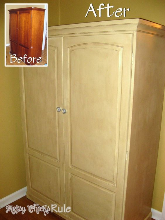 A collection of before after furniture pieces annie for Annie sloan chalk paint kitchen cabinets before and after