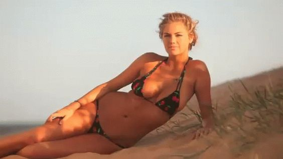 Kate Upton knows what's up...
