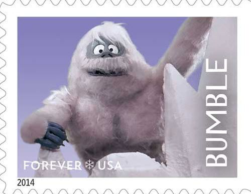Bumble Forever stamp