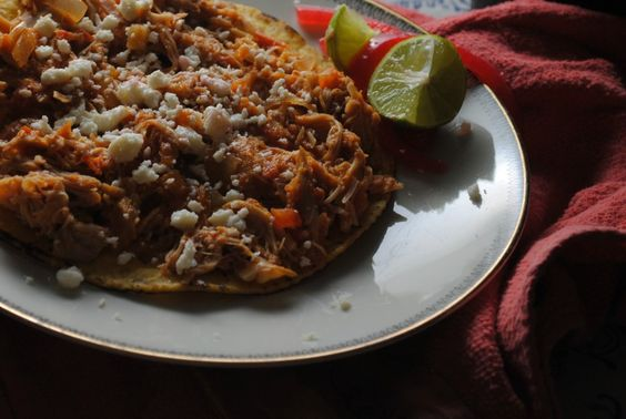 Chicken Tinga -- one of my favorite taco meats!