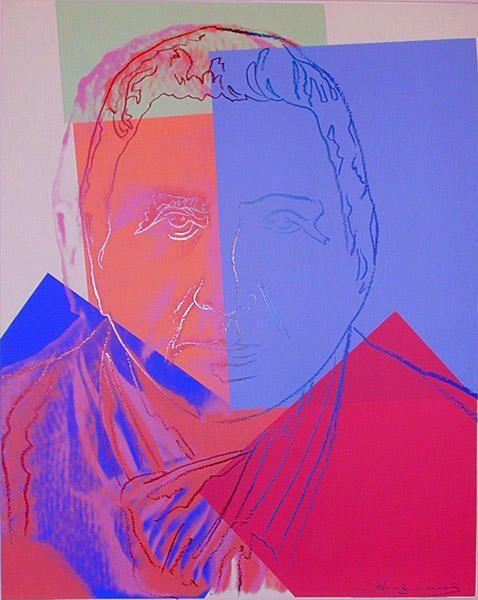 'Gertrude Stein' von Andy Warhol (1928-1987, United States)