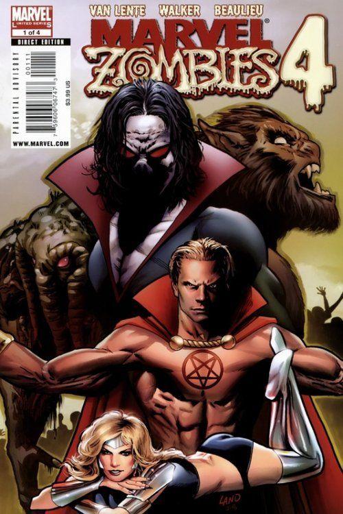 Marvel Zombies 4 Issue 1 Marvel Comics Marvel Zombies Marvel Comics Marvel