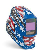 Miller 264 852 Stars & Stripes III Digital Elite Auto-Darkening Welding Helmet