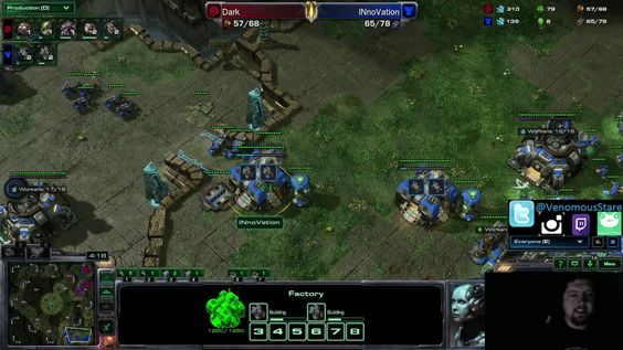 Dark (Z) vs Innovation (T) - deciding match in a BO5- full game with commentary #games #Starcraft #Starcraft2 #SC2 #gamingnews #blizzard