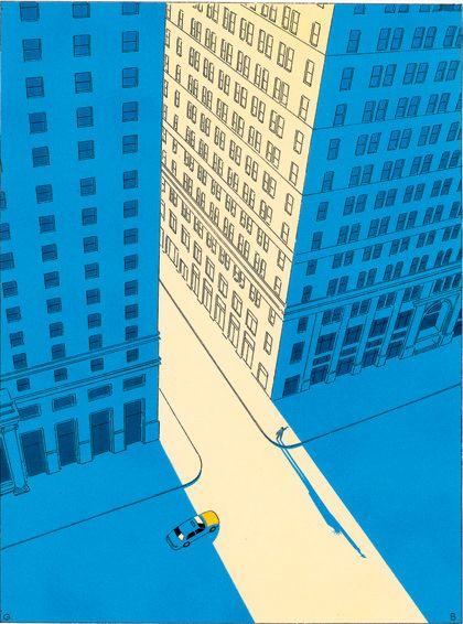 Guy Billout | Julius' Illustrator Noteblog