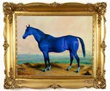 The legend of the Blue Horse.